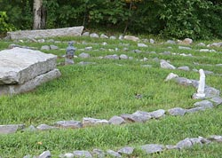 White Pine Healing Labyrinth